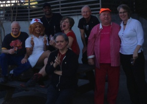Being bawdy at Austin Writers Roulette in February 2015